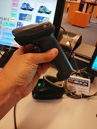 Metapace MP-78 2D imager barcode scanner